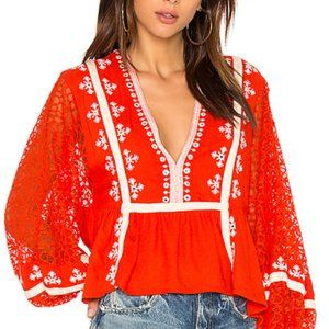 Free People - Boogie All Night Blouse